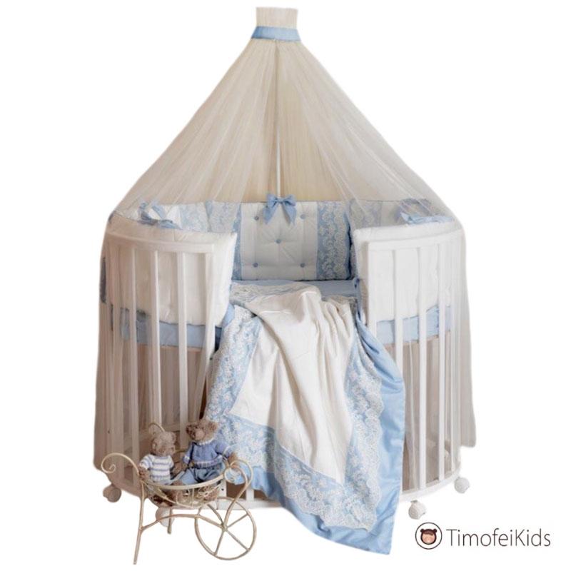 Набор в кроватку Блюмарин голубой