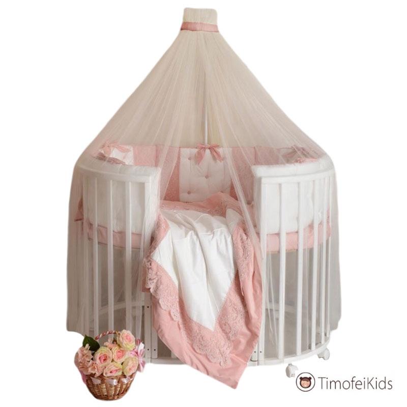 Набор в кроватку Блюмарин розовый