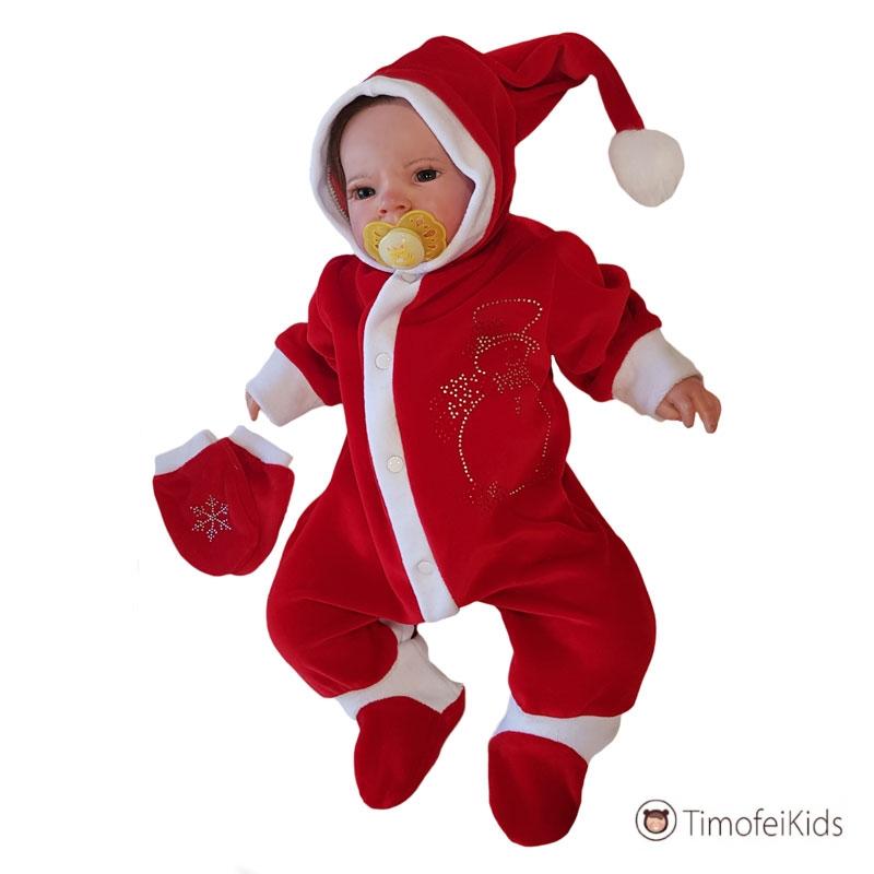 Новогодний комбинезон для новорожденного